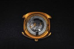 Cadran de montre de luxe doré