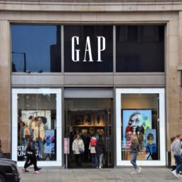 l'enseigne fast fashion Gap privilégie les magasins franchisés en Europe en 2021