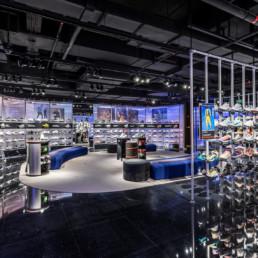 Nike Rise concept retail au service de personnalisation de l'expérience client