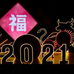 Nouvel an chinois 2021, un évènement festif et commercial sous le signe du buffle de metal